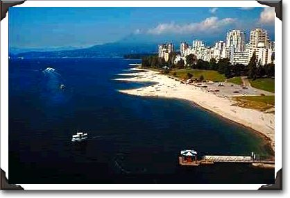 English Bay Beach, west end Vancouver, British Columbia
